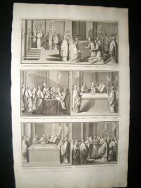 Picart C1730 Folio Antique Print. Religious Catholic 30
